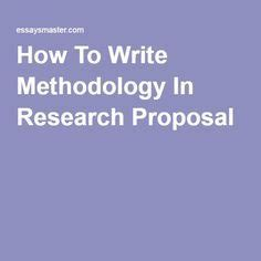 Research Proposal: Master Thesis Business Economics